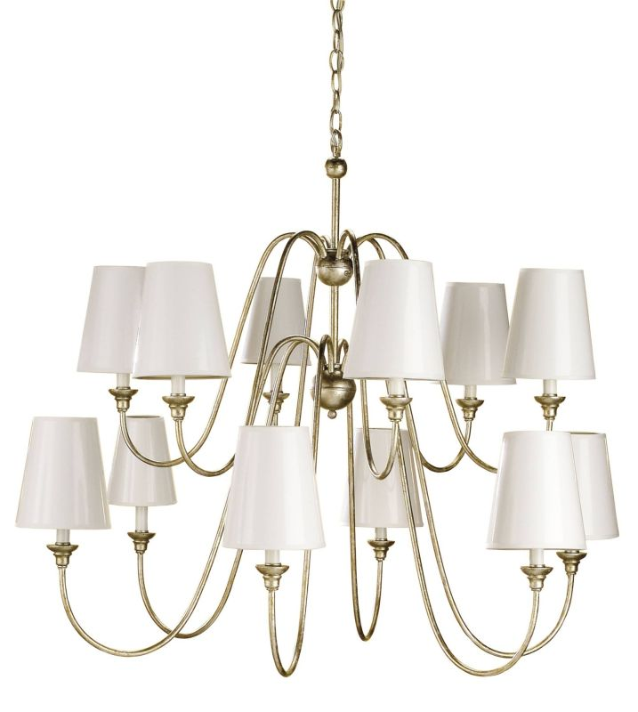 Currey and Company 9289 Orion Chandelier with Customizable Shades