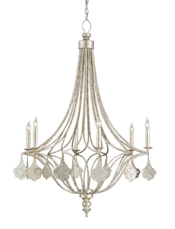 Currey and Company 9343 Lavinia 6 Light Candle Style Chandelier Sale $2370.00 ITEM#: 2493438 MODEL# :9343 :