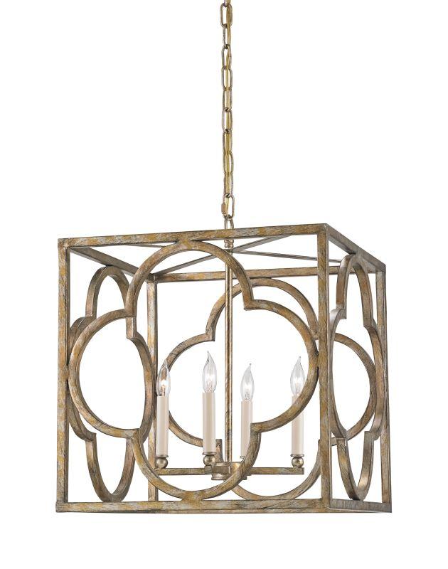Currey and Company 9360 Cosette 4 Light Full Sized Pendant Peppercorn Sale $1380.00 ITEM#: 2493443 MODEL# :9360 :