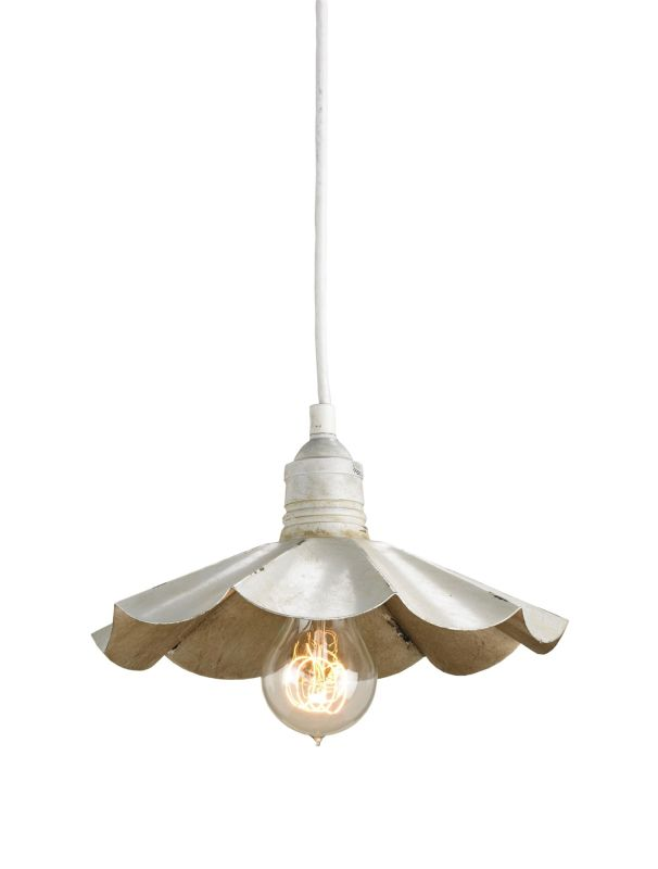 Currey and Company 9895 Dalliance 1 Light Pendant with Flared Wrought
