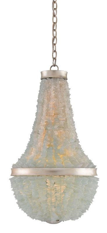 Currey and Company 9966 Platea 6 Light 1 Tier Mini Chandelier