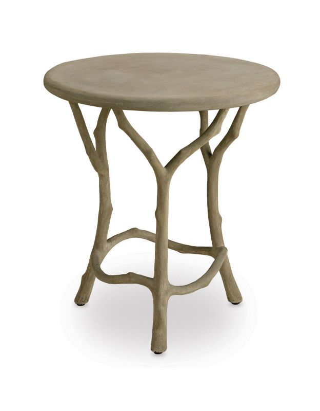 "Currey and Company 2373 22"" Hidcote Side Table Portland Furniture End"