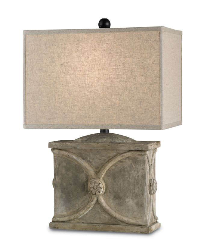 Currey and Company 6014 Waldenbury 1 Light Table Lamp with Detailed Sale $440.00 ITEM#: 1978563 MODEL# :6014 :