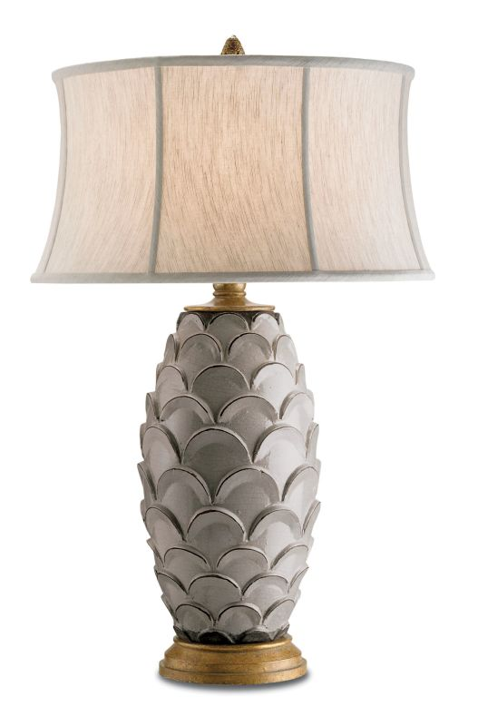 "Currey and Company 6261 Demitasse 32""H 1 Light Table Lamp with Concave"