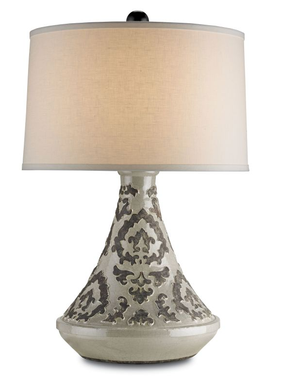 Currey and Company 6427 Tagine 1 Light Table Lamp with Arabesque