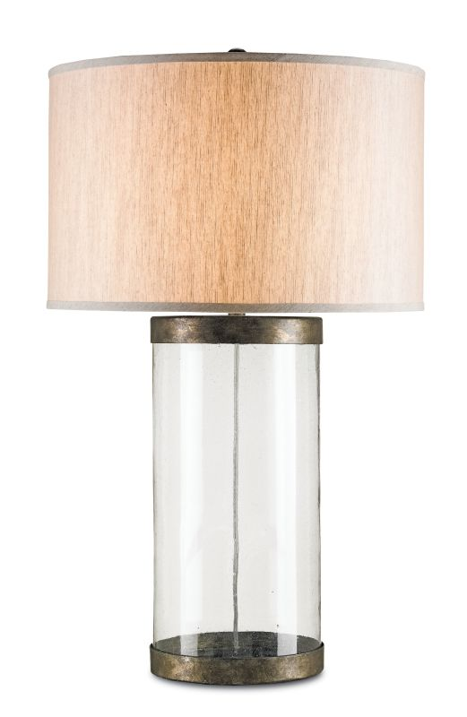 Currey and Company 6464 Glasshouse 1 Light Table Lamp Pyrite Bronze