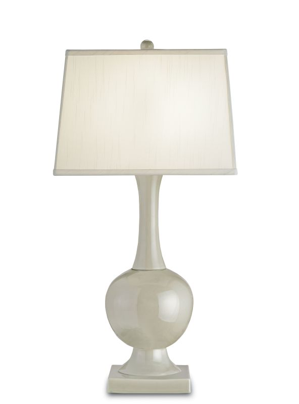 "Currey and Company 6493 Downton 32""H 1 Light Table Lamp with Square"