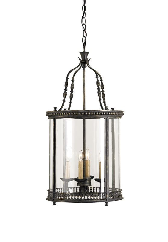 "Currey and Company 9046 Grayson 33""H 4 Light Lantern from the Lillian"