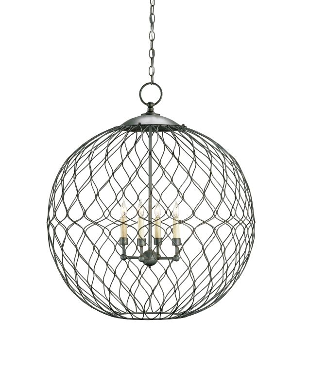 Currey and Company 9617 Simpatico Orb 4 Light Chandelier Large Hiroshi Sale $1440.00 ITEM#: 2131491 MODEL# :9617 :