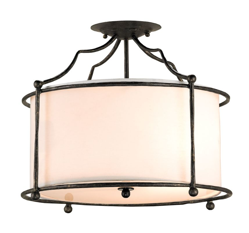 Currey and Company 9904 Cachet 4 Light Convertible Pendant / Flush