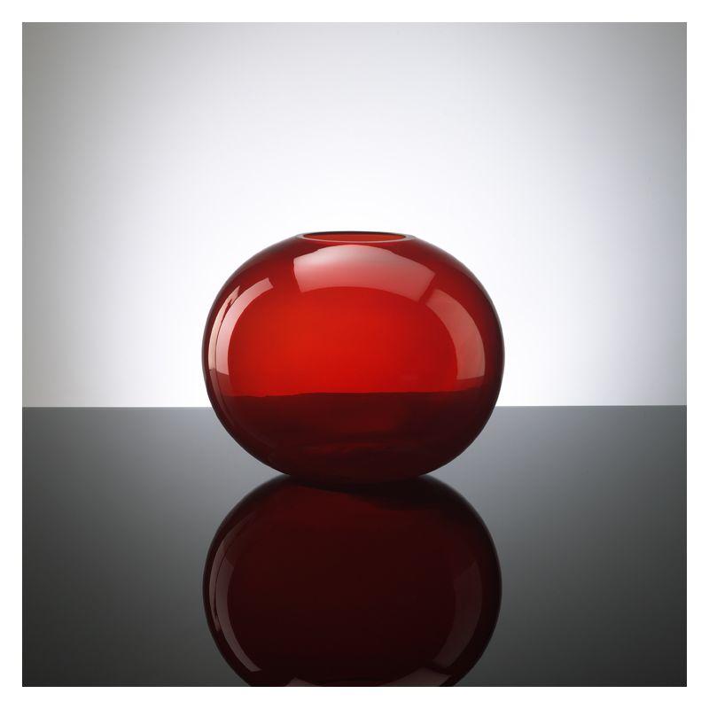 """Cyan Design 01043 9.75"""" Large Red Pod Vase Red Home Decor Vases"""