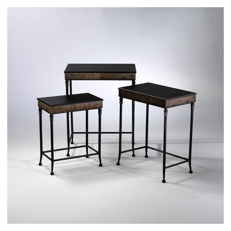 """Cyan Design 01605 24"""" Empire Nesting Tables Old World Furniture"""