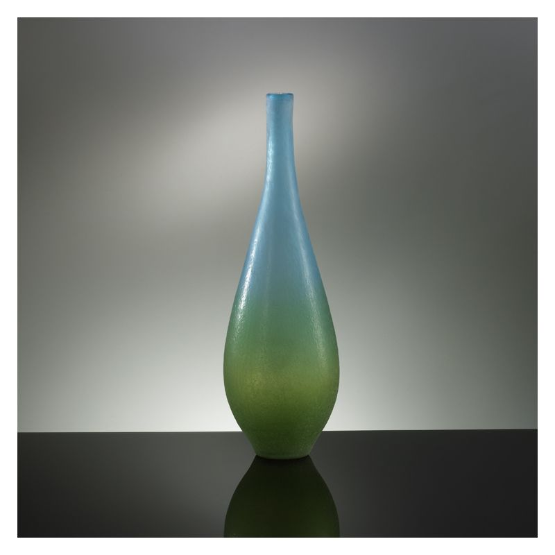 "Cyan Design 01665 21.5"" Large Vizio Blue And Green Vase Blue and Green"