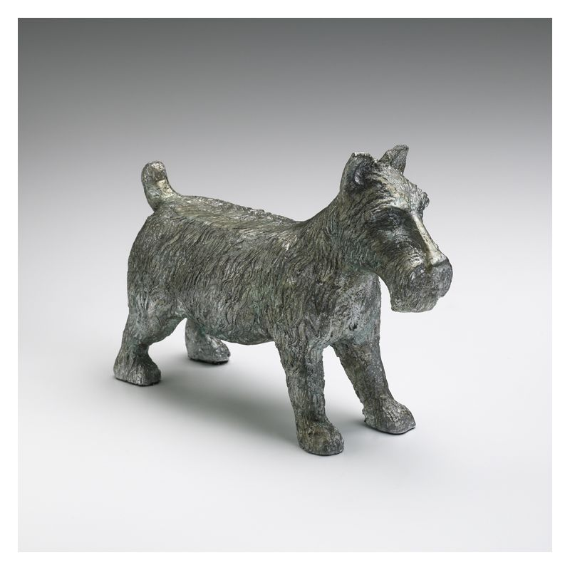 "Cyan Design 01864 6.25"" Dog Token Pewter Home Decor Statues &"