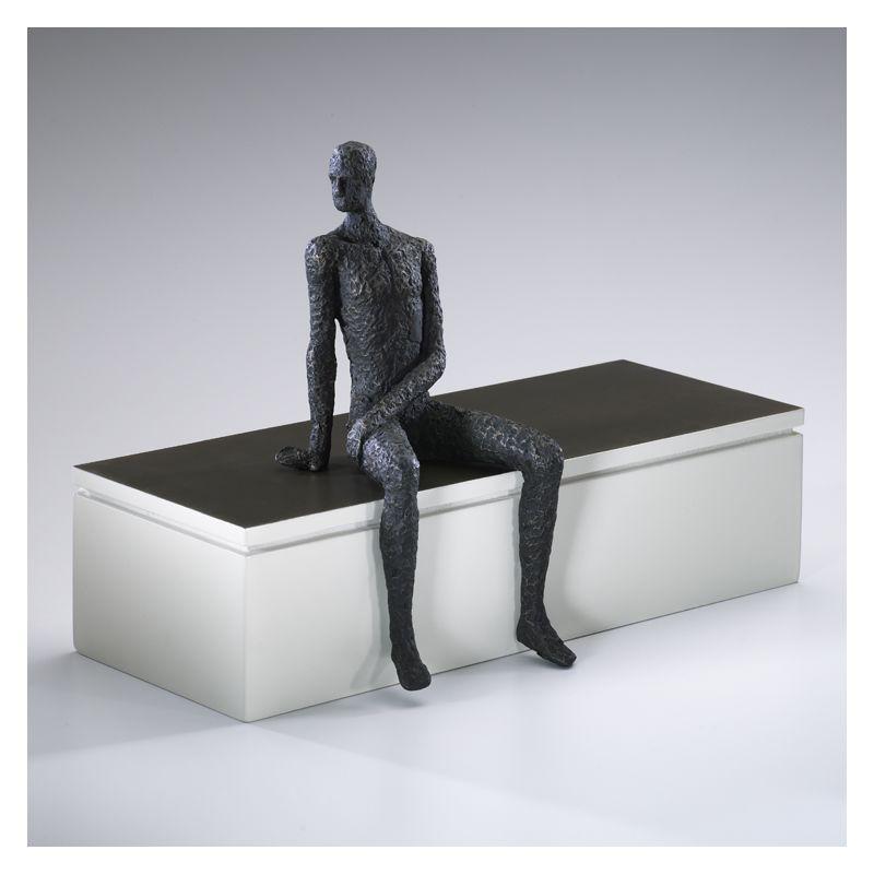 """Cyan Design 01902 11"""" Posing Man Shelf Decor Old World Home Decor"""