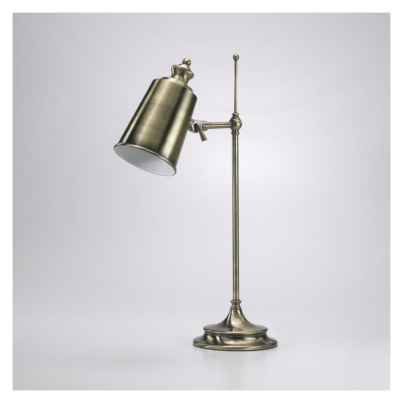 """Cyan Design 01953-1 20.5"""" Adjustable Brass Lamp from the Lighting"""