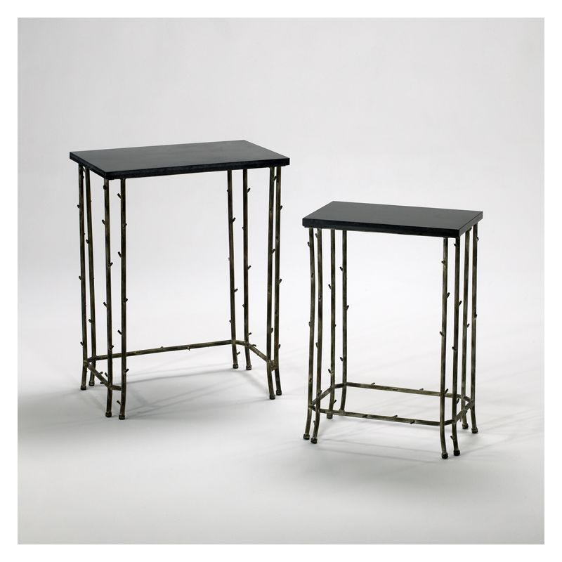 """Cyan Design 02045 24.25"""" Bamboo Nesting Tables Distressed Bamboo"""