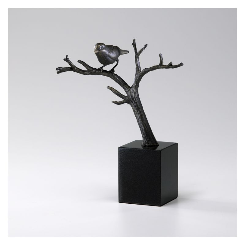 """Cyan Design 02285 11"""" Cardinal On Branches Old World Home Decor"""