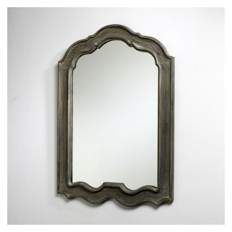 "Cyan Design 02478 39"" Kathryn Mirror Distressed Gray Home Decor"