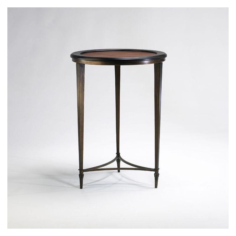 "Cyan Design 02730 28.5"" Paloma Side Table Ebony and Mahogany Furniture"