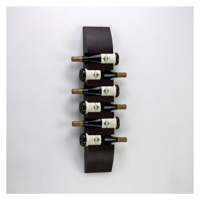 "Cyan Design 02797 36"" Wall Wine Storage Mahogany Home Decor Wine Racks"