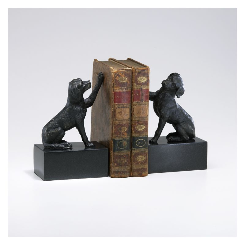 "Cyan Design 02817 8.25"" Dog Bookends Home Decor Bookends"