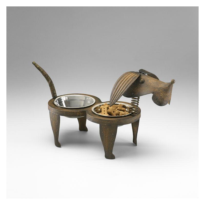 "Cyan Design 04092 12.5"" Rex Pet Feeder Home Decor Decorative"