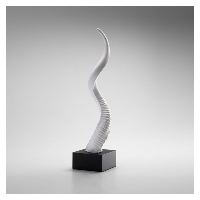 """Cyan Design 04101 25.75"""" Sculptured Horn Home Decor Statues &"""