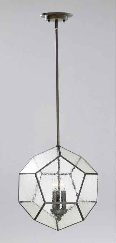 Cyan Design 04162 3 Light Down Lighting Pendant from the Pentagon