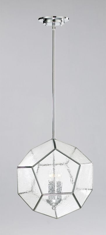 Cyan Design 04163 3 Light Down Lighting Pendant from the Pentagon