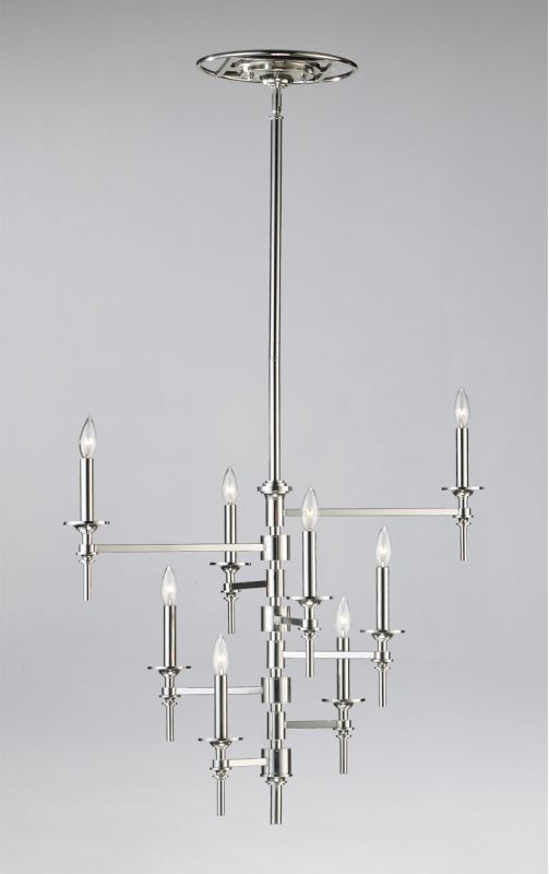 Cyan Design 04182 8 Light Up Lighting Chandelier from the Omega