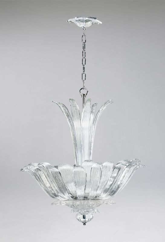 Cyan Design 04391 4 Light Bowl Pendant from the Murano Collection