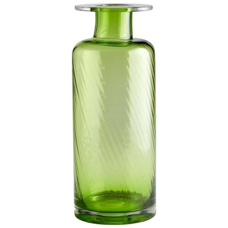 """Cyan Design 05868 18.25"""" Large Apothecary Vase Green Home Decor Vases"""