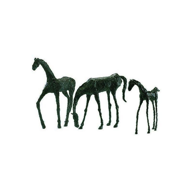 """Cyan Design 00432 15.5"""" Grazing Horse Sculpture Bronze Home Decor"""