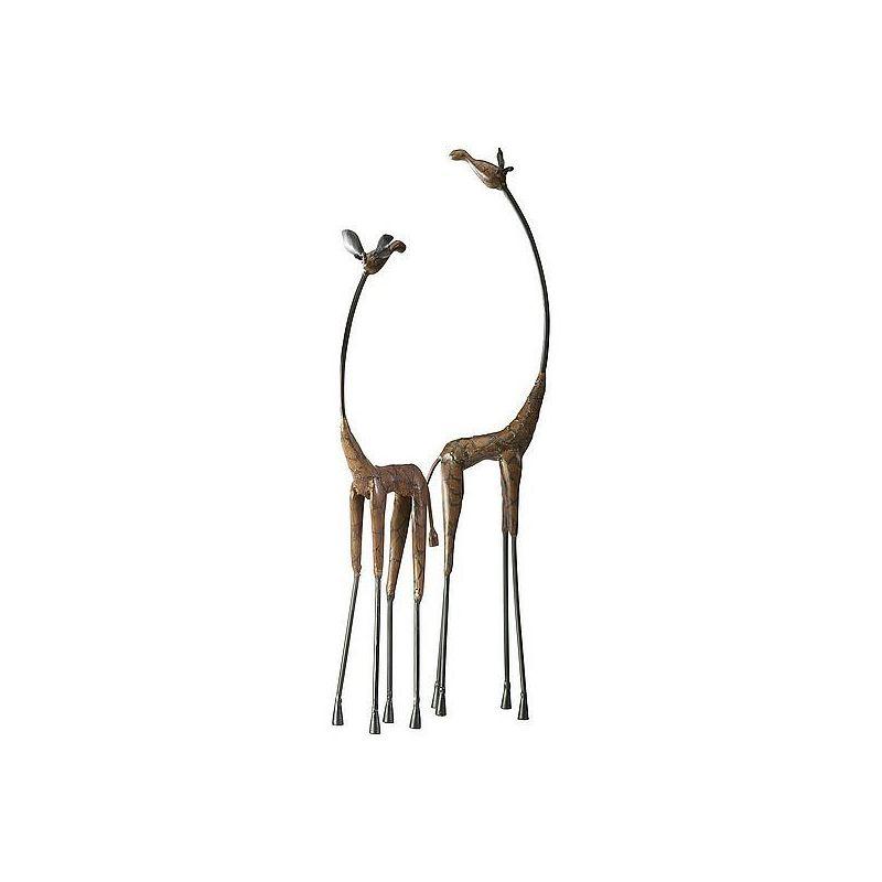 "Cyan Design 00985 22"" Short Giraffe Hand Applied Multi-Color Home"