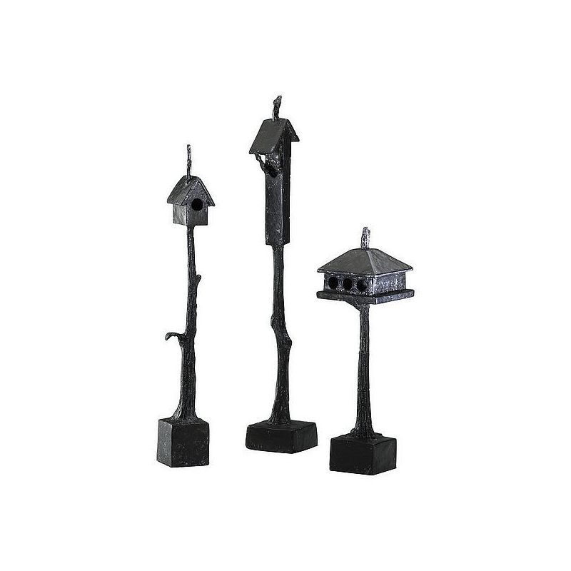 """Cyan Design 01875 15.5"""" Medium Bird House Bronze Home Decor Statues &"""