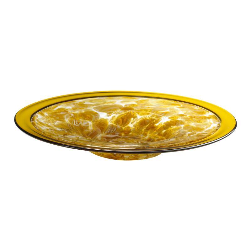 Cyan Design 04232 Large Catalan Plate Amber Home Decor Decorative