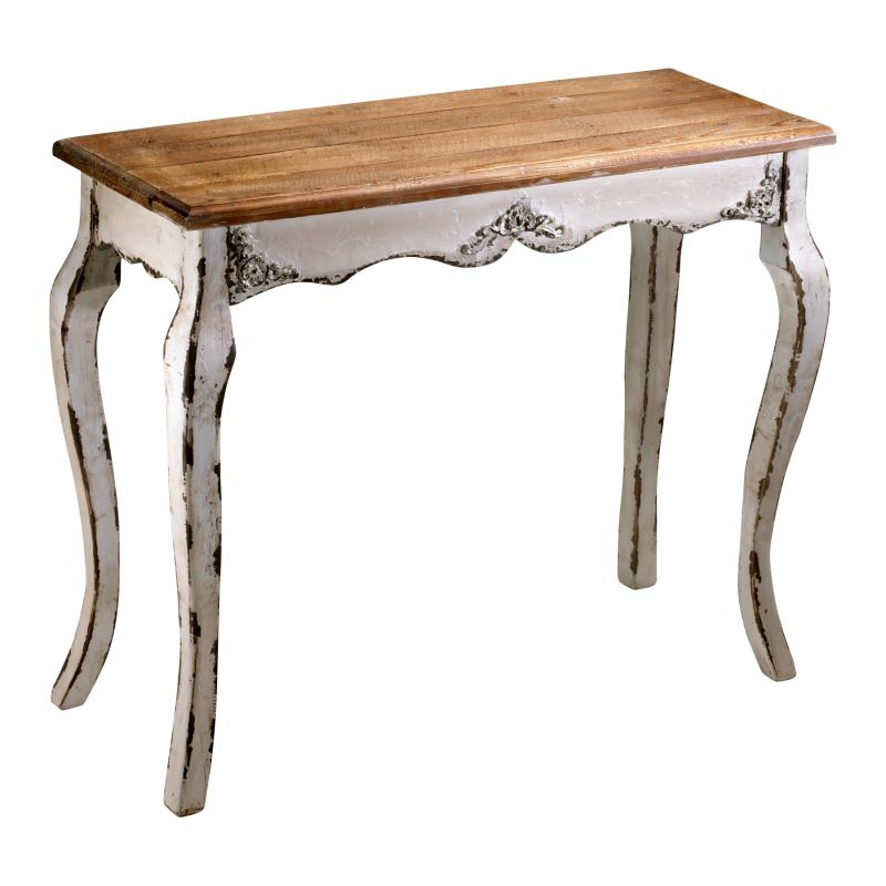 Cyan Design 04253 Cotswold Console Antique White Furniture Console