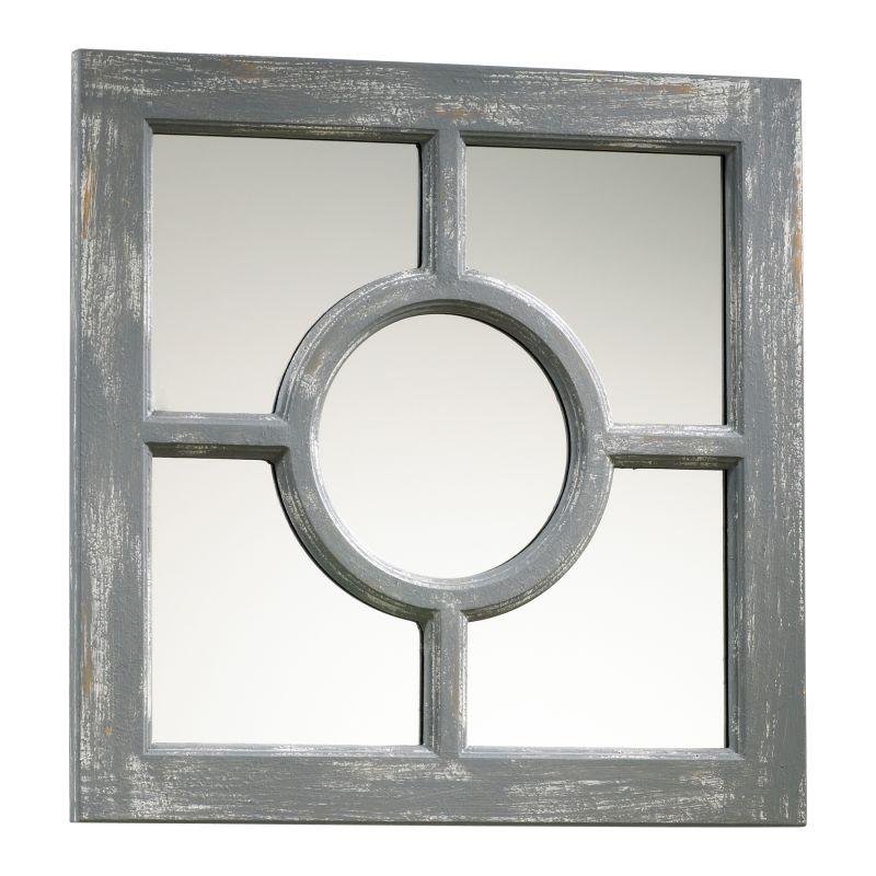 Cyan Design 04279 Ashford Rectangular Mirror Distressed Gray Home