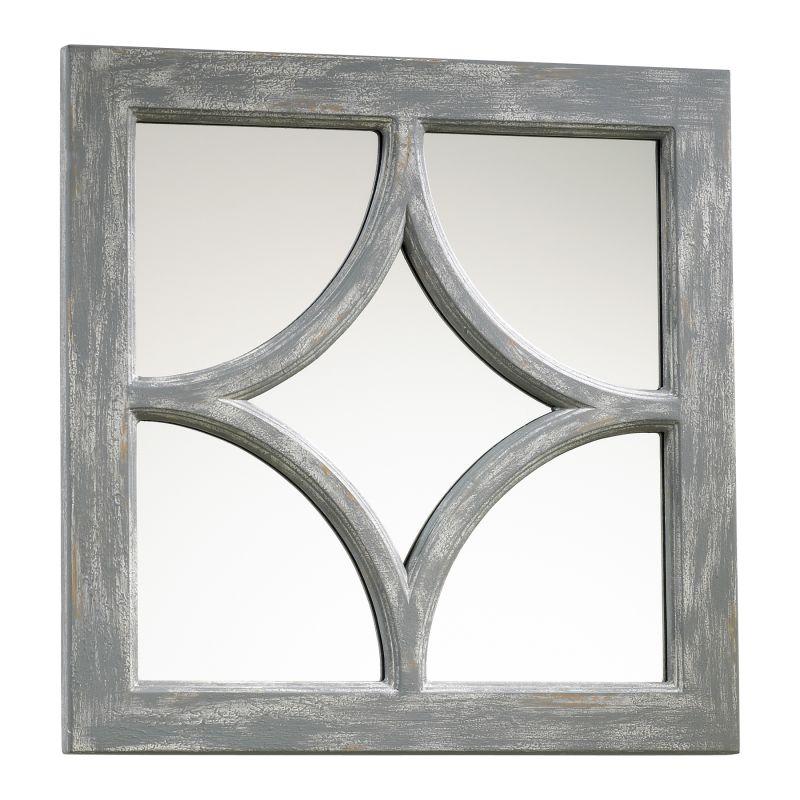 Cyan Design 04281 Ashton Rectangular Mirror Distressed Gray Home Decor Sale $112.50 ITEM#: 2257387 MODEL# :4281 UPC#: 190808032539 :