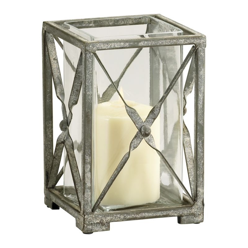 Cyan Design 04288 Small Ascot Candleholder Rustic Gray Home Decor