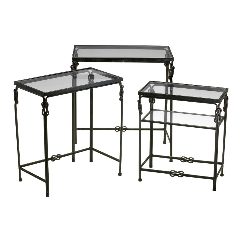 Cyan Design 04312 Dupont Occasional Nesting Tables Rustic Iron Sale $402.50 ITEM#: 2257404 MODEL# :4312 UPC#: 190808020819 :