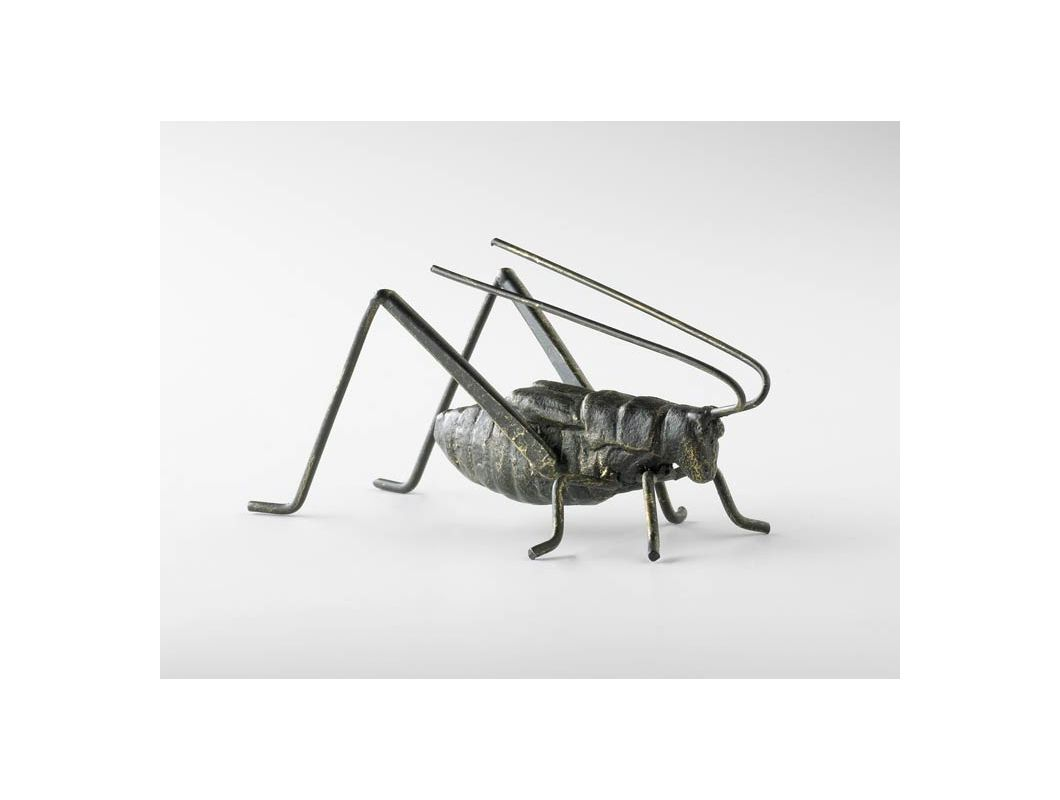 "Cyan Design 04351 5"" Cricket Sculpture Raw Steel Home Decor Statues &"
