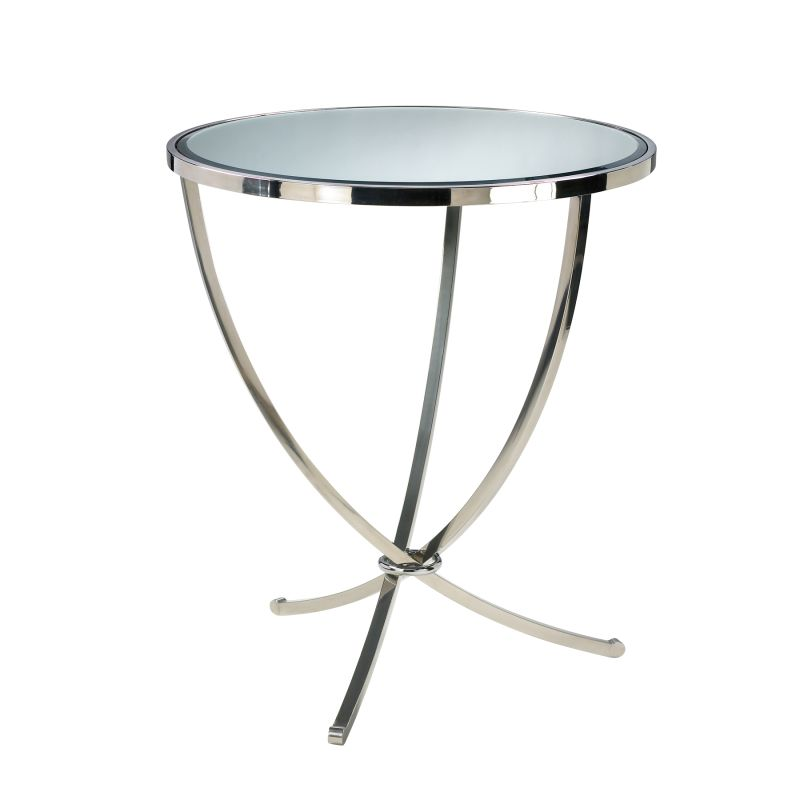 Cyan Design 04457 Nuovo Foyer Table Stainless Steel Furniture End