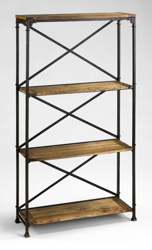 Cyan Design 04541 4 Shelf Monacco Etagere Rustic Furniture Shelving