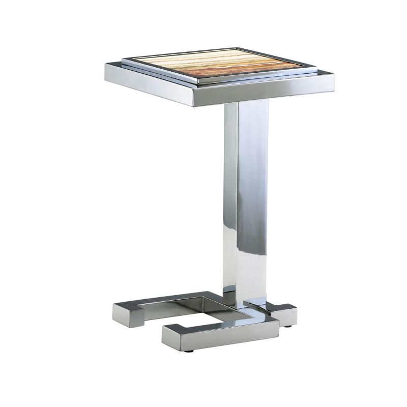 Cyan Design 04608 Tandy Accent Table Chrome Furniture End Tables