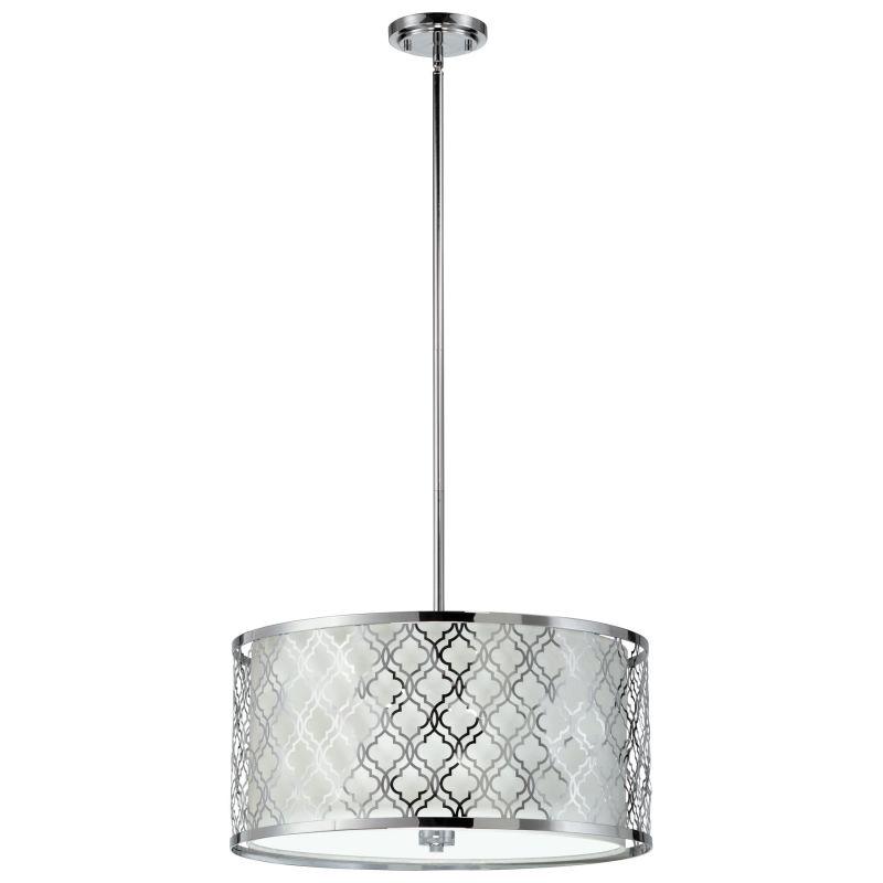Cyan Design 04656 Dauphine 5 Light Full Size Pendant Chrome Indoor Sale $852.50 ITEM#: 2257463 MODEL# :4656 UPC#: 810228020434 :