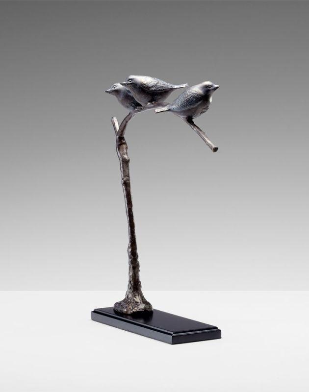 """Cyan Design 04679 16.75"""" Birds On A Limb Sculpture Bronze Patina Home"""