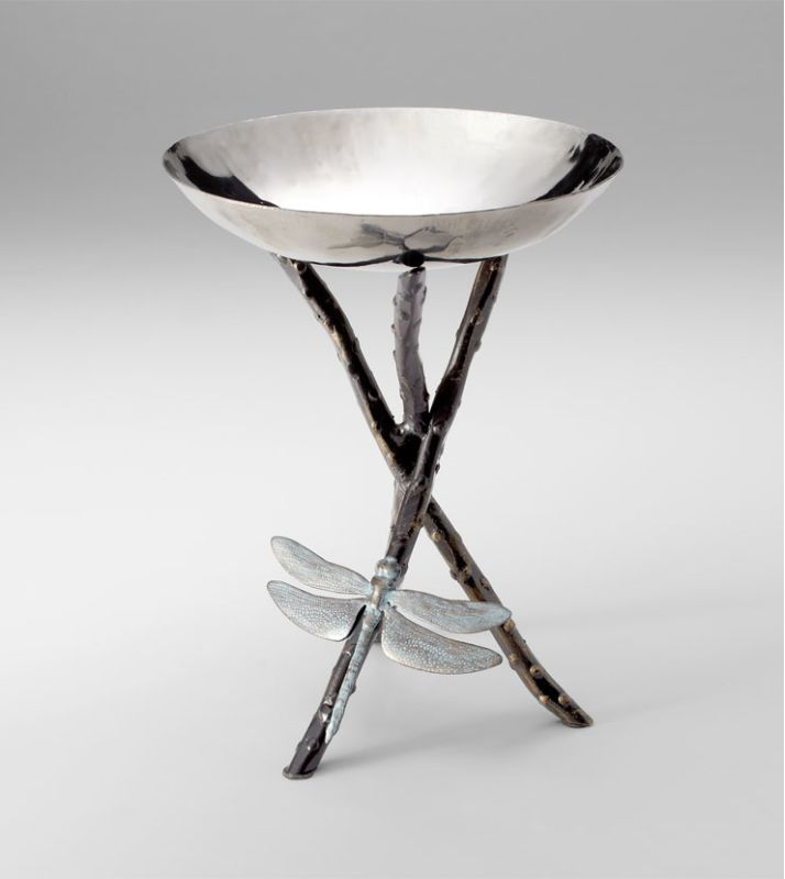 Cyan Design 04686 Dragonfly Decorative Tray Silver / Bronze Home Decor