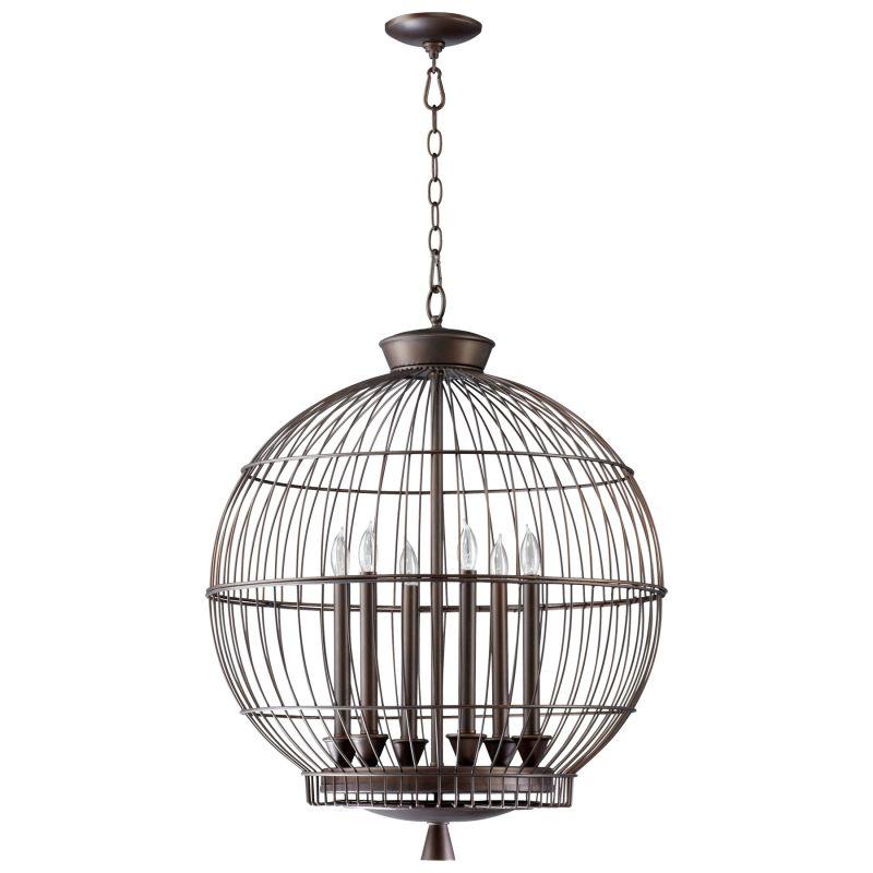 Cyan Design 04754 Hendricks 6 Light Full Size Pendant Oiled Bronze